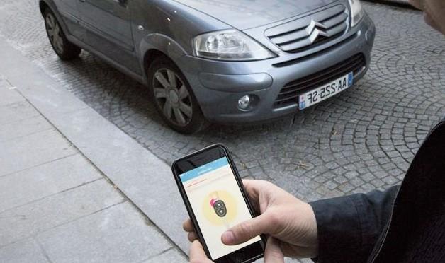 véhicule en car-sharing